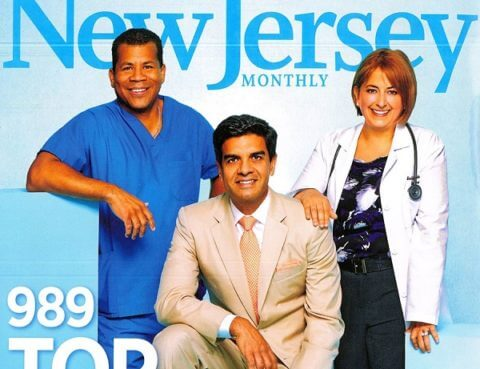 Dr. Donald A McCain Listed in New Jersey Monthly